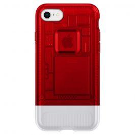Червен кейс от Spigen - Classic C1 за iPhone 8 и 7