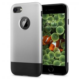 Spigen Classic One, aluminum gray - iPhone 8/7