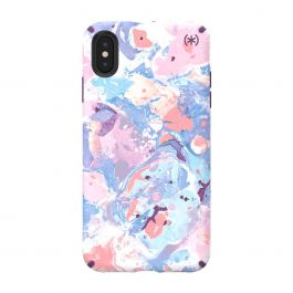 Speck case for iPhone XS Max Presidio INKED ResortMarble/Hyacinth Purple
