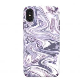 Speck case for iPhone XS Max Presidio INKED Lilac Ice/Hyacinth Purple