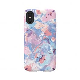 Speck case for iPhone XS/X Presidio INKED ResortMarble/Hyacinth Purple