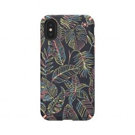 Speck case for iPhone XS/X Presidio INKED Sun Dyed Leaves/Sunset Peach