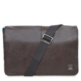 Кафява кожена чанта Knomo KINSALE - Messenger Bag