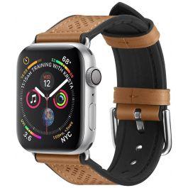 Кафява ретро каишка за Apple Watch 40/38 mm от Spigen