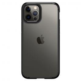 Черен кейс от Spigen - Crystal Hybrid за iPhone 12 | 12 Pro