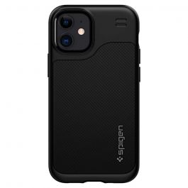 Черен кейс от Spigen - Hybrid NX за iPhone 12 mini