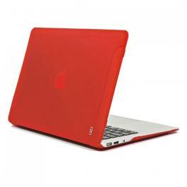 Червен матов твърд калъф от Aiino за MacBook Air 13inch