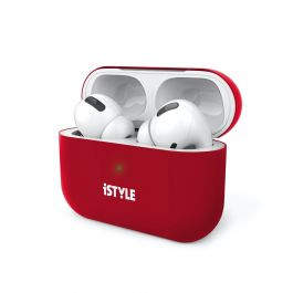 iSTYLE SILICONE COVER AirPods Pro - red