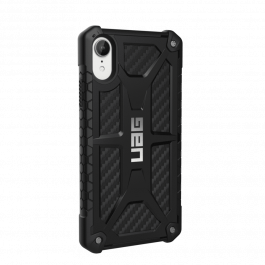 UAG Monarch case Black, carbon - iPhone XR