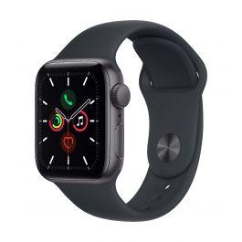 Apple Watch SE GPS, 40mm Space Grey с Midnight Sport каишка