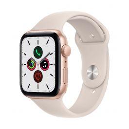 Apple Watch SE, 40мм Gold със Starlight Sport каишка