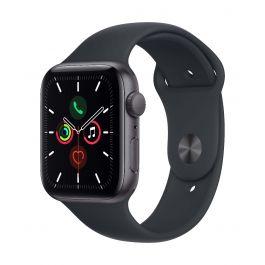 Apple Watch SE GPS, 44mm Space Grey с Midnight Sport каишка