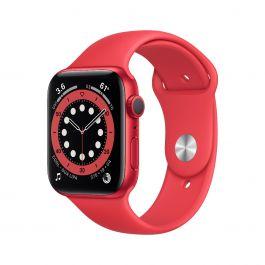 Apple Watch S6, 40мм PRODUCT(RED) с PRODUCT(RED) силиконова каишка