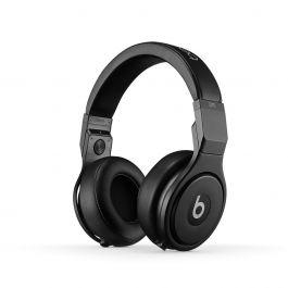 Beats Pro Over-Ear черни професионални слушалки с рамка и наушници, обхващащи ухото