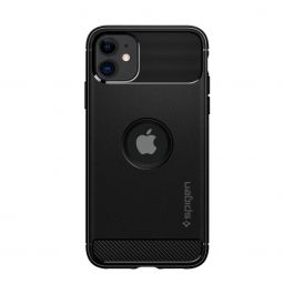 Spigen Rugged Armor, black - iPhone 11