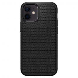 Черен кейс от Spigen - Liquid Air за iPhone 12 mini