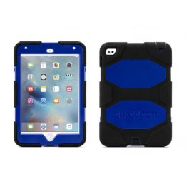 Griffin Survivor iPad mini 4 All-Terrain Rugged Case - Black/Blue