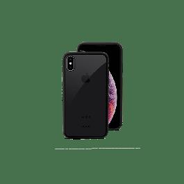 Прозрачен кейс с черен кант от EPICO за iPhone X / XS