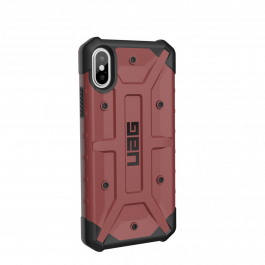 UAG Pathfinder case Carmine, red - iPhone XS/X