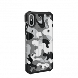 UAG Pathfinder case, white camo - iPhone XS/X