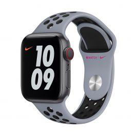 Apple Watch 40mm Nike Band: Obsidian Mist/Black Nike Sport Band Regular