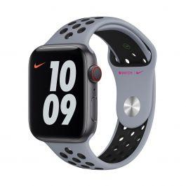 Apple Watch 44mm Nike Band: Obsidian Mist/Black Nike Sport Band - Regular