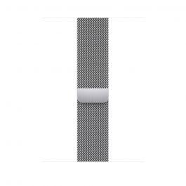 Каишка за Apple Watch от Apple - 45mm Silver Milanese Loop