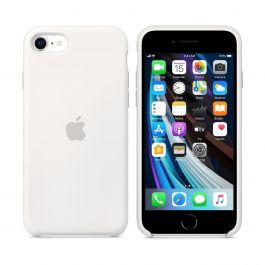 Apple iPhone SE2 Silicone Case - White