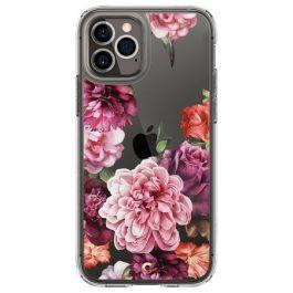 Прозрачен кейс с рози от Spigen - Cecile за iPhone 12 | 12 Pro