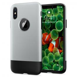 Spigen Classic One, aluminum gray - iPhone X