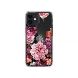 Прозрачен кейс с рози от Spigen - Cecile за iPhone 12 mini