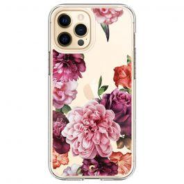 Прозрачен кейс с рози от Spigen - Cecile за iPhone 12 Pro Max