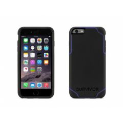 Черен кейс със сини елементи Survivor Jurney от Griffin за смартфон Apple iPhone 6/6s Plus