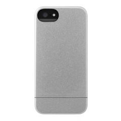 Incase - Crystal Slider Case for iPhone 5/5S - Silver [CL69037]
