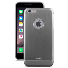 Тънък сив алуминиев кейс Moshi за Apple iPhone 6