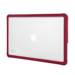 Червен подсилен кейс Dux от STM за лаптоп Apple MacBook 13''