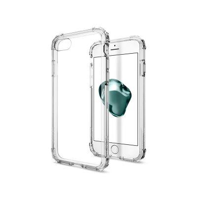 Прозрачен защитен кейс Spigen Crystal Shell за iPhone 7