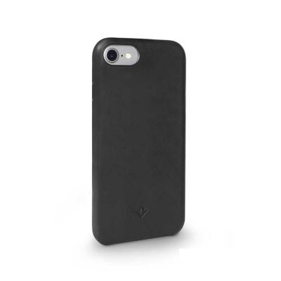 TwelveSouth Relaxed Leather Clip for iPhone 6/6s/7/8 - black
