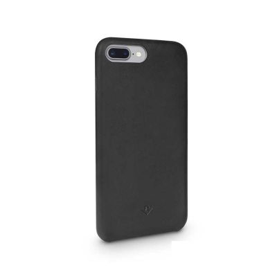 TwelveSouth Relaxed Leather Clip for iPhone 6 Plus/6s Plus/7 Plus/8 Plus - black