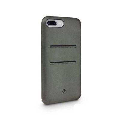 Матовозелен защитен кейс с джобове за iPhone 7 Plus Relaxed Leather Clip от TwelveSouth