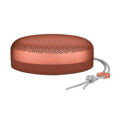Розово-оранжева портативна колонка Beoplay A1