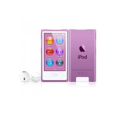 Apple iPod nano плейър 16 GB (2012) - лилав цвят