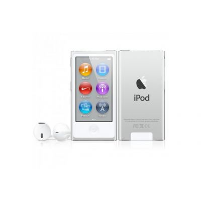 Apple iPod nano плейър 16 GB (2012) - сребрист цвят