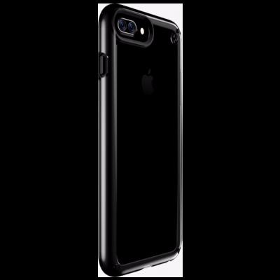 Прозрачен калъф с черен кант от Speck за iPhone 7 Plus, iPhone 6S Plus – Presidio SHOW