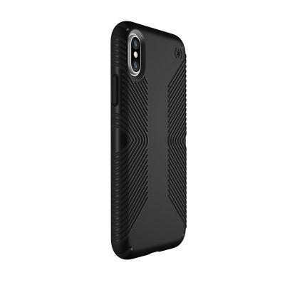 Speck Presidio Grip for iPhone X - Black