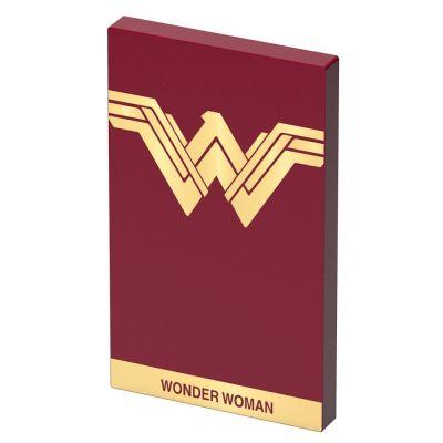 Преносима външна батерия Tribe DC Movie Wonder Woman - червена