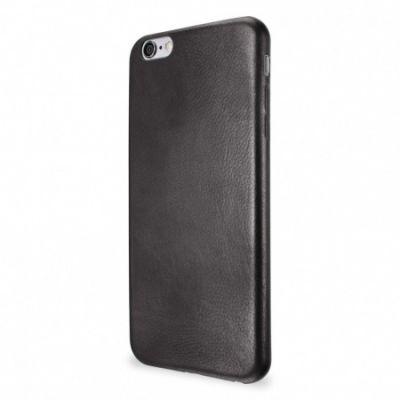 Черен кожен кейс Leather Clip от Artwizz за смартфон Apple iPhone 6/6s Plus