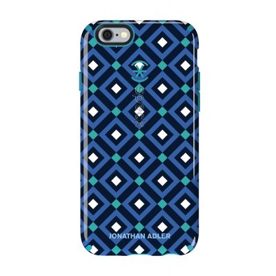iPhone 6/6s Candyshell Inked Johnathan Adler BlueGio/Peacock Glossy