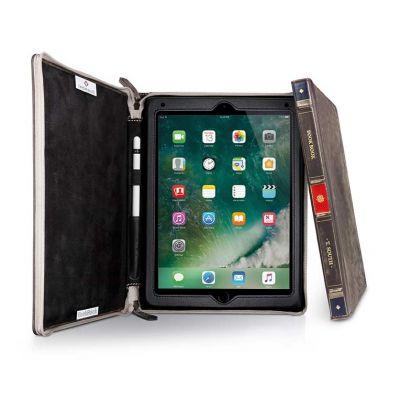 Тъмнокафяв калъф BookBook от TwelveSouth за таблет Apple iPad Pro 9,7'' с дизайн във формата на книга