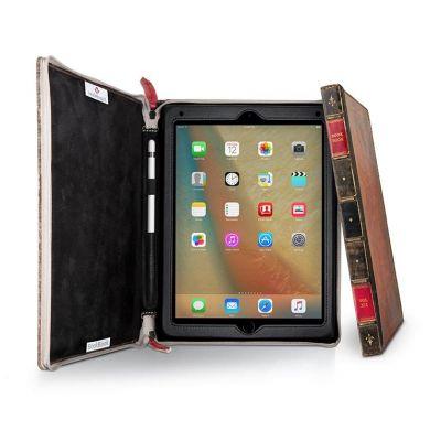 Кожен калъф BookBook от TwelveSouth за таблет Apple iPad Pro 9,7'' с дизайн във формата на книга